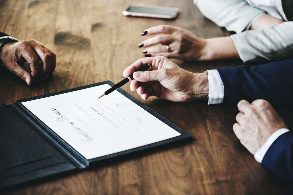 Bild Scheidungsfolgenvereinbarung